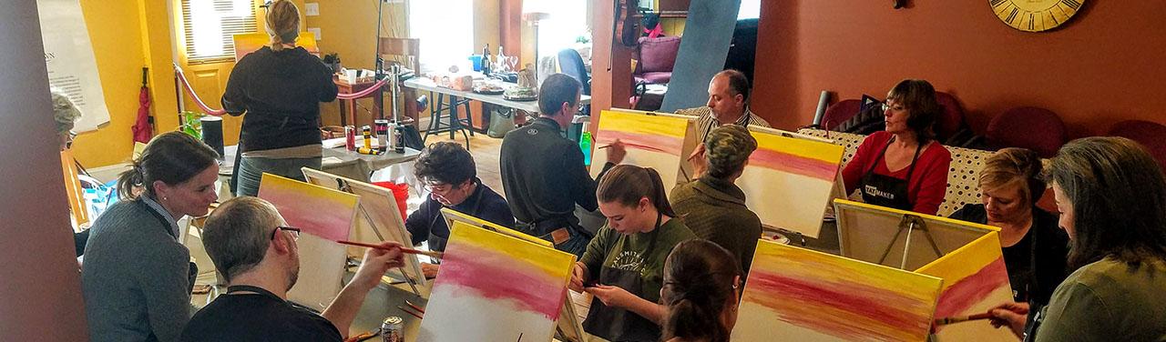 Paint Party 1280 x 375