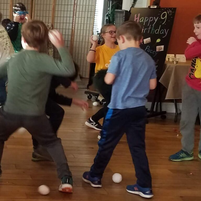 Party Snowball fight