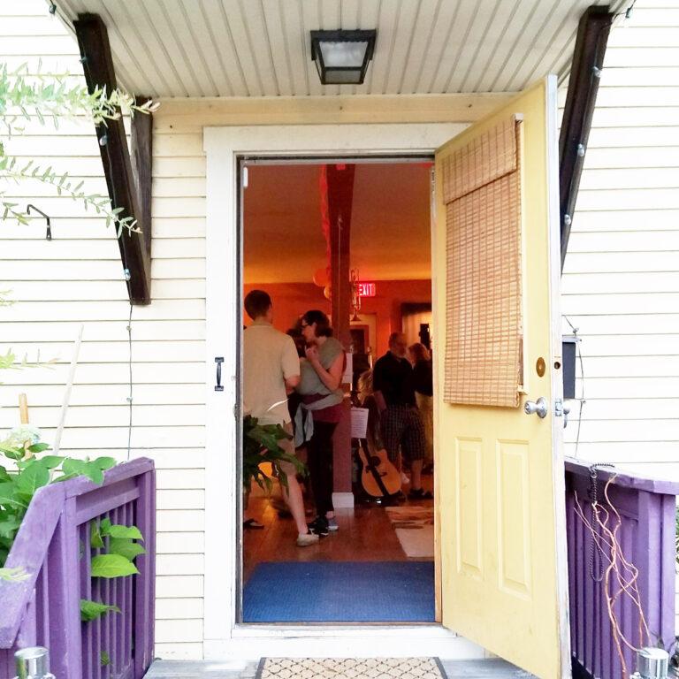 Front-door-open